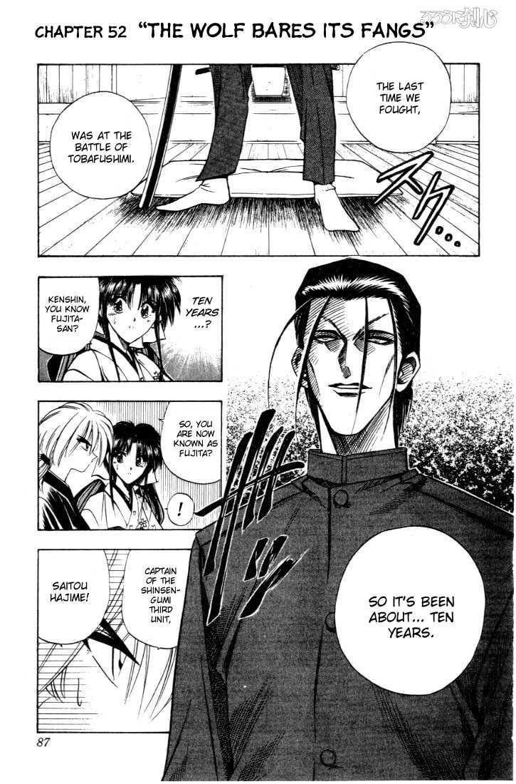 Rurouni Kenshin 52 Page 1