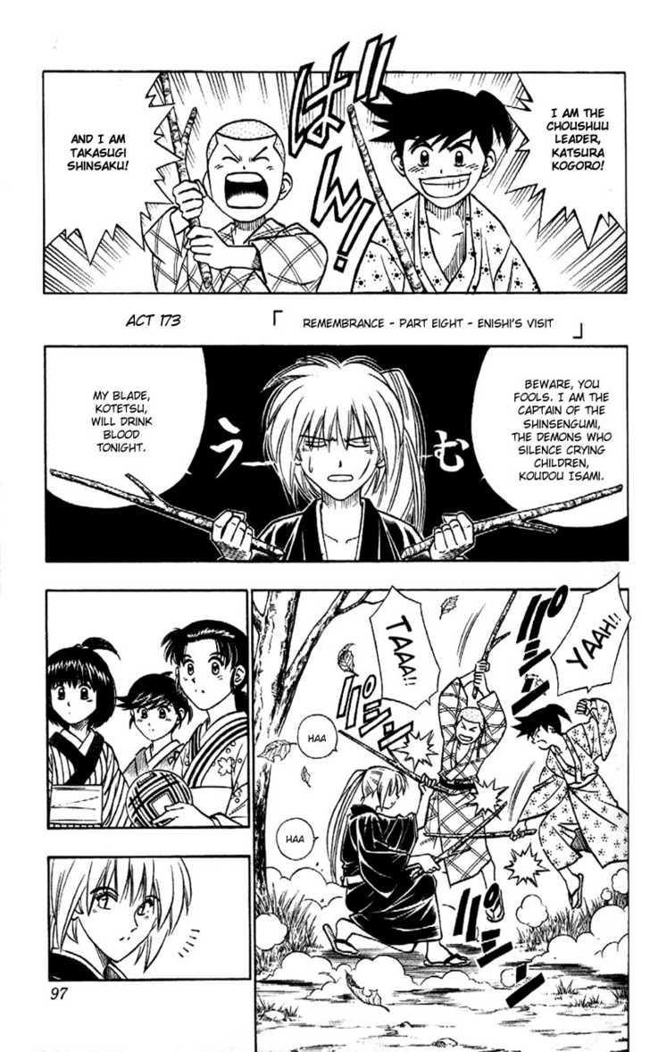 Rurouni Kenshin 173 Page 1