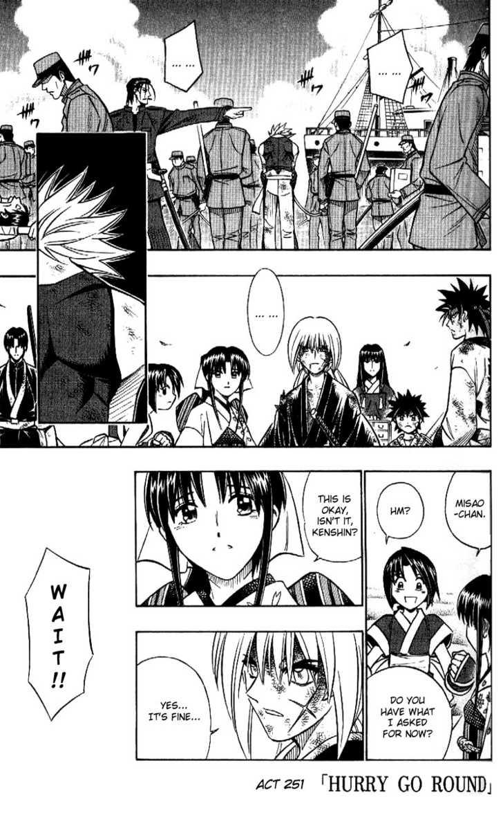 Rurouni Kenshin 251 Page 1