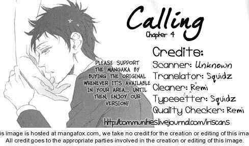 Calling (OOTSUKI Miu) 4 Page 1