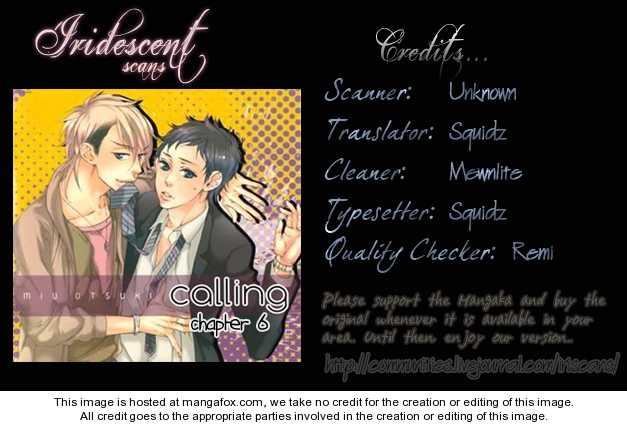Calling (OOTSUKI Miu) 6 Page 2