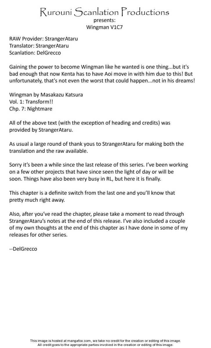 Wingman 7 Page 1