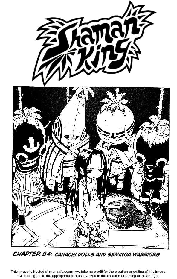 Shaman King 84 Page 1
