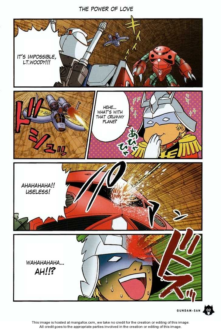 Kidou Senshi Gundam-san 0.1 Page 3
