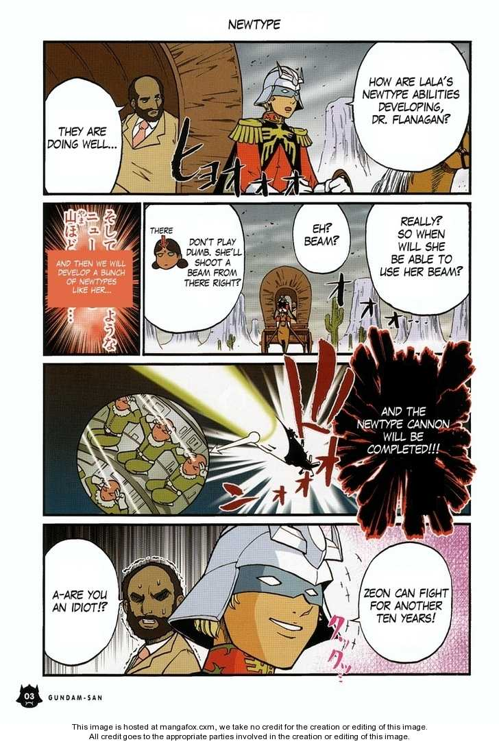 Kidou Senshi Gundam-san 0.1 Page 4