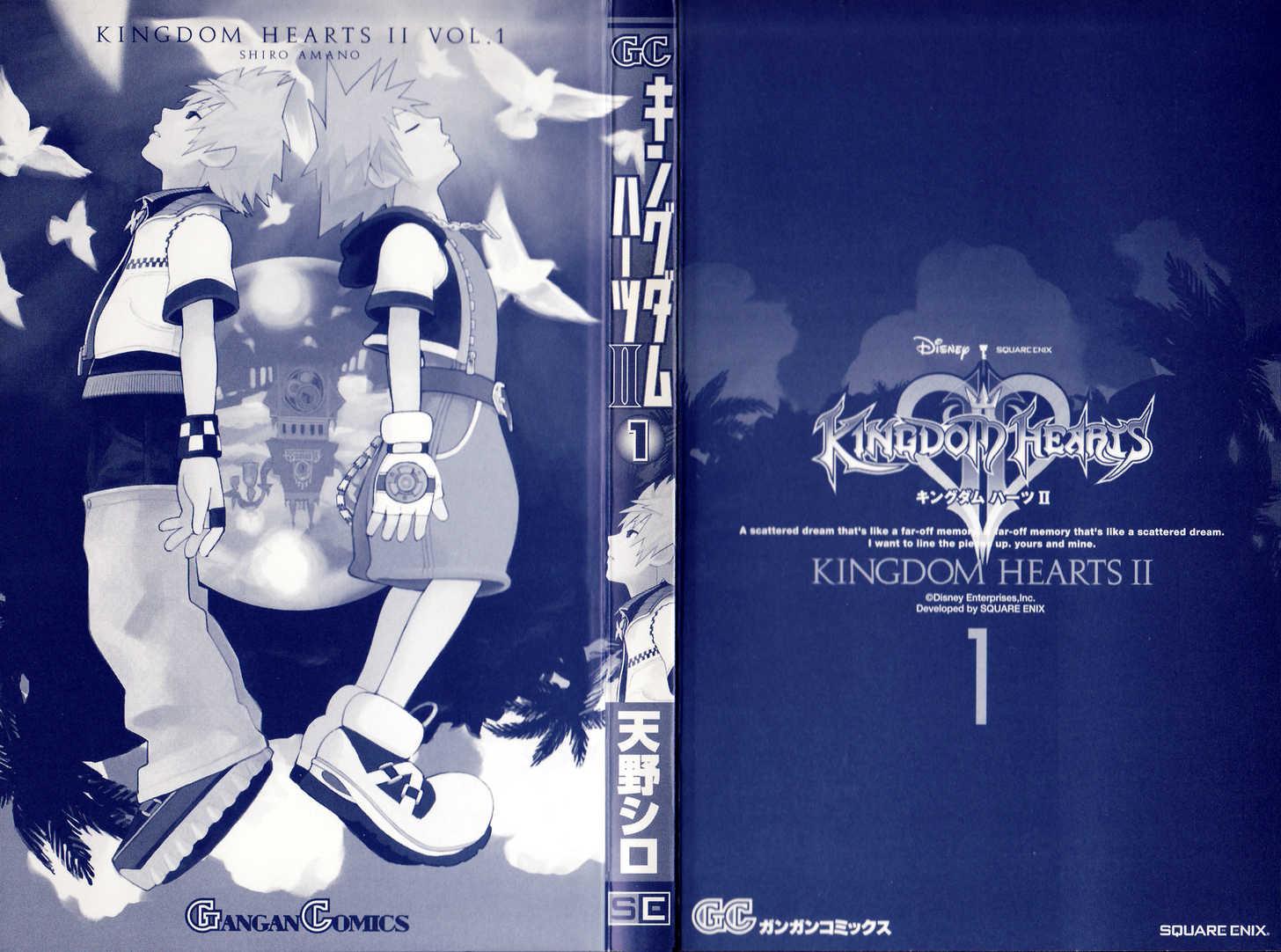 Kingdom Hearts II 1 Page 2