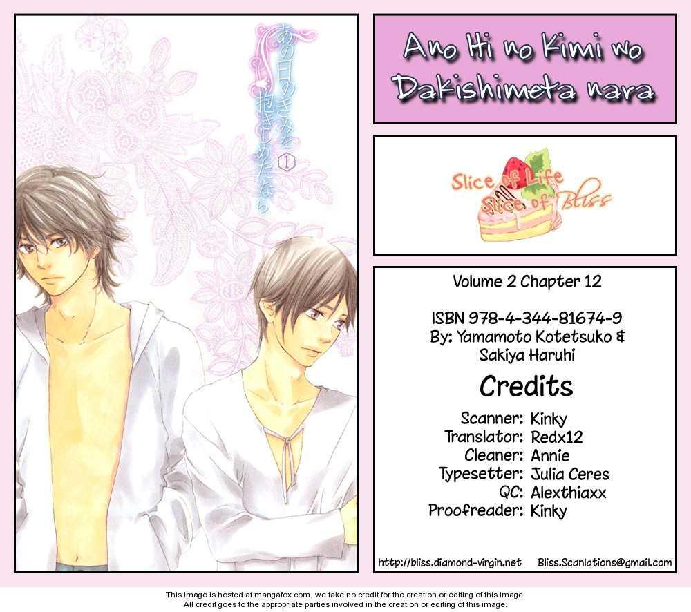 Ano Hi no Kimi wo Dakishimeta nara 12 Page 1