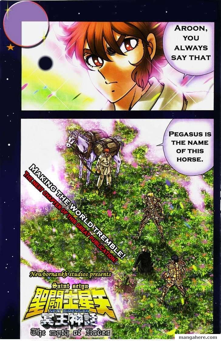 Saint Seiya - Next Dimension 3 Page 1
