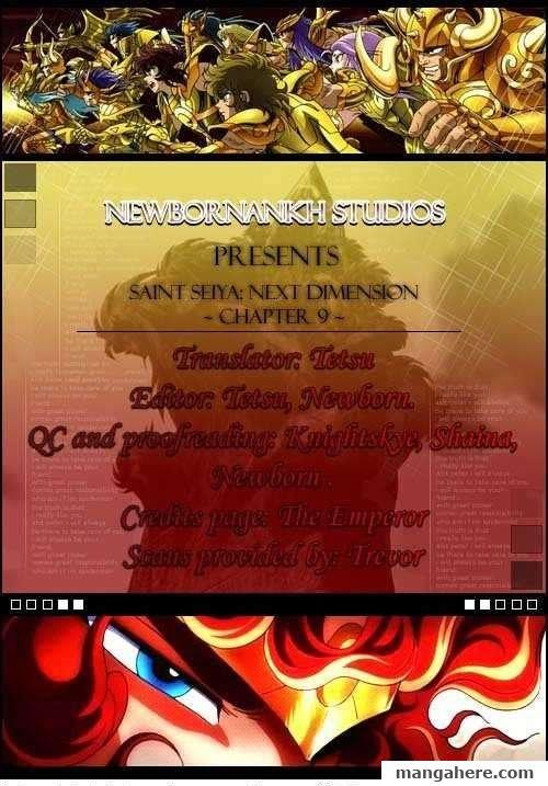 Saint Seiya - Next Dimension 9 Page 1