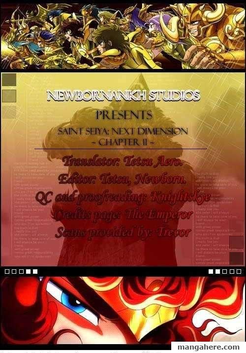 Saint Seiya - Next Dimension 11 Page 1