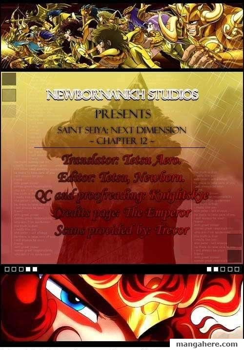 Saint Seiya - Next Dimension 12 Page 1