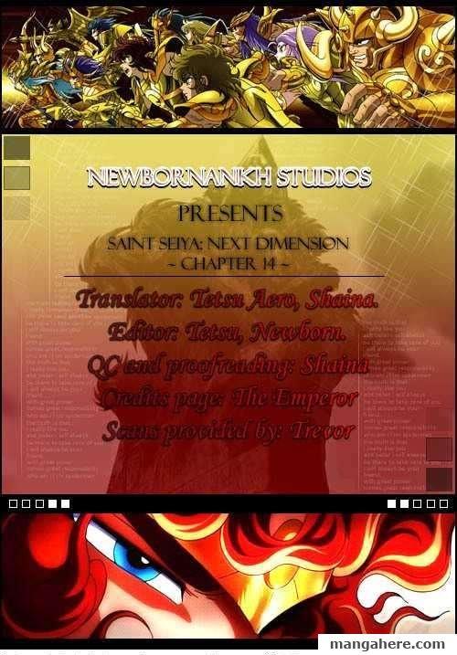 Saint Seiya - Next Dimension 14 Page 1