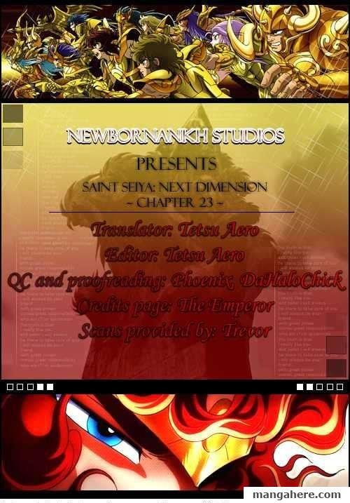 Saint Seiya - Next Dimension 23 Page 1