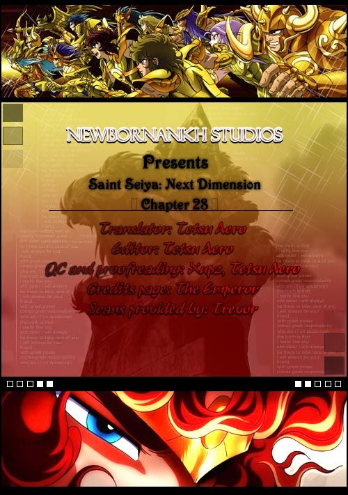 Saint Seiya - Next Dimension 28 Page 1