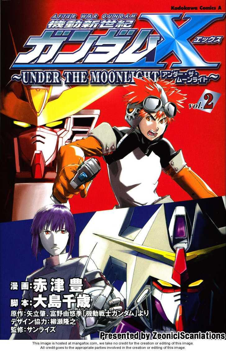 Gundam X: Under The Moonlight 0 Page 1