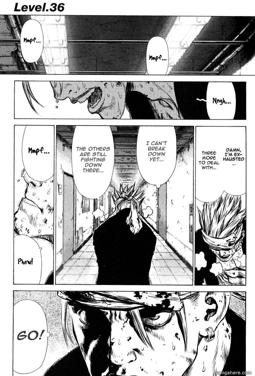 Sun-ken Rock 36 Page 1
