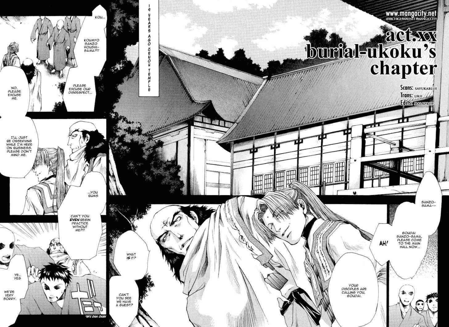Saiyuki Reload 0.1 Page 1