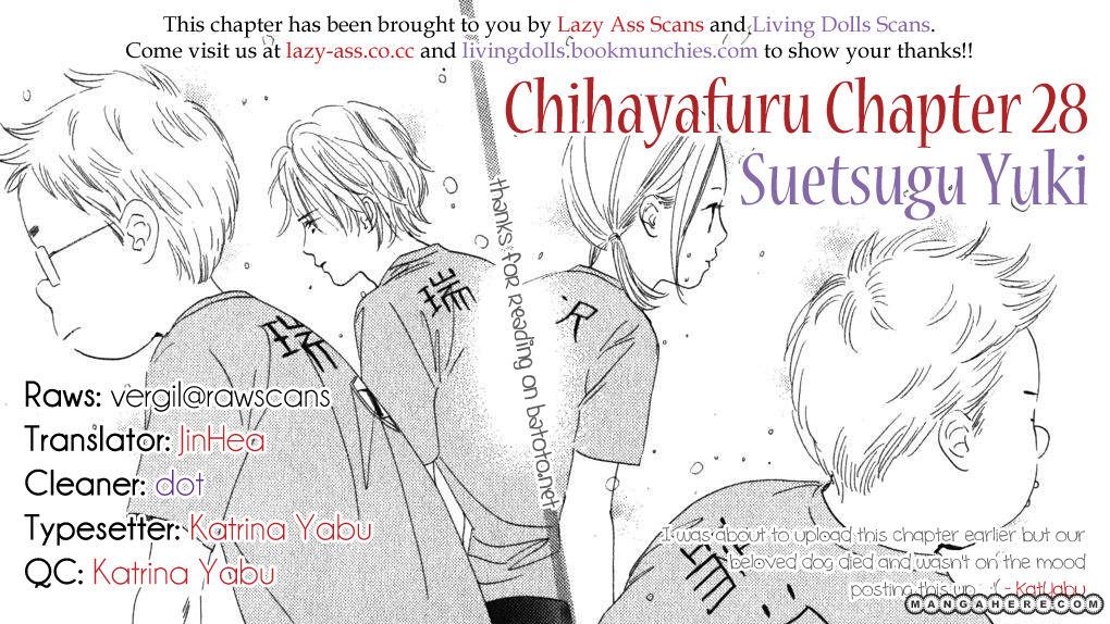 Chihayafuru 28 Page 1