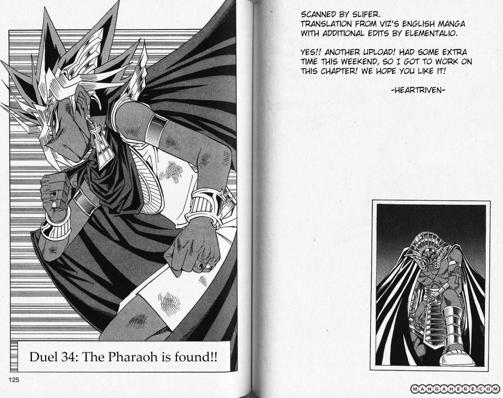 Yu-Gi-Oh! Millennium World 34 Page 1