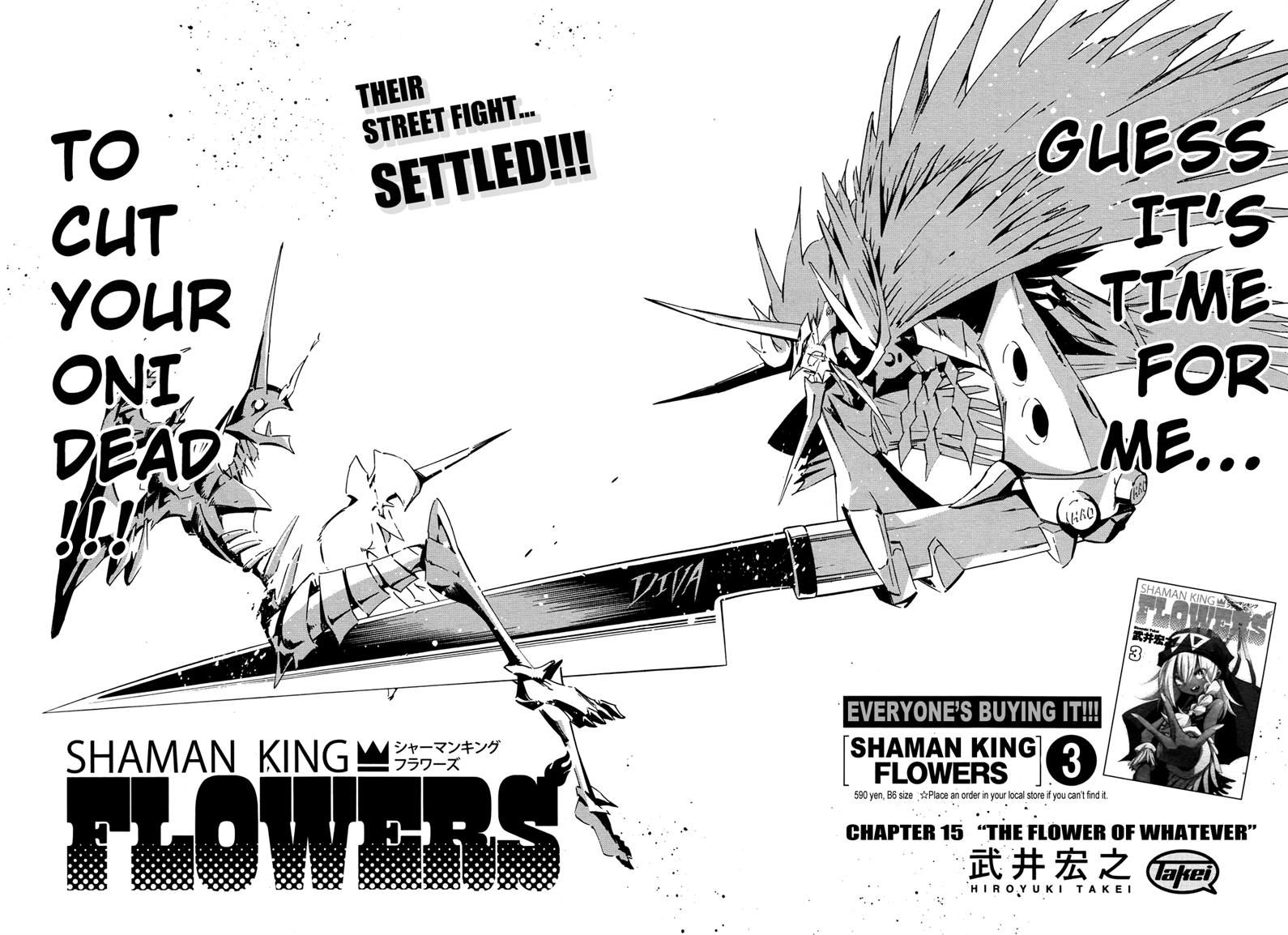 Shaman King Flowers 15 Page 2