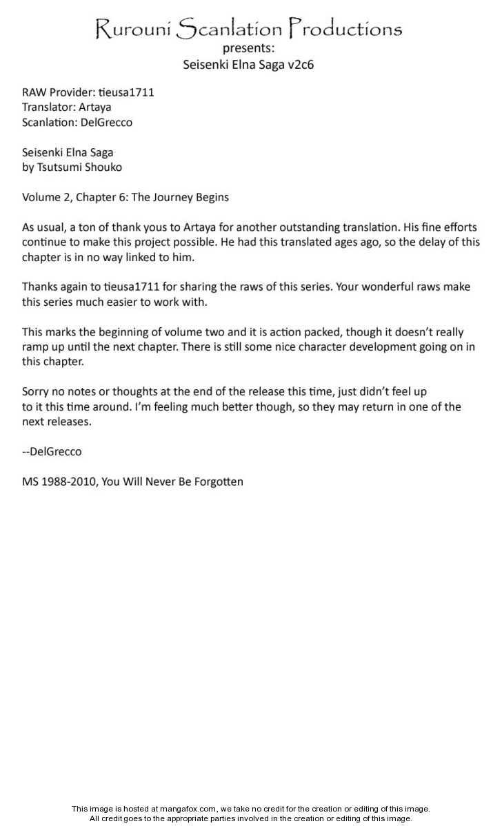 Seisenki Elna Saga 6 Page 1