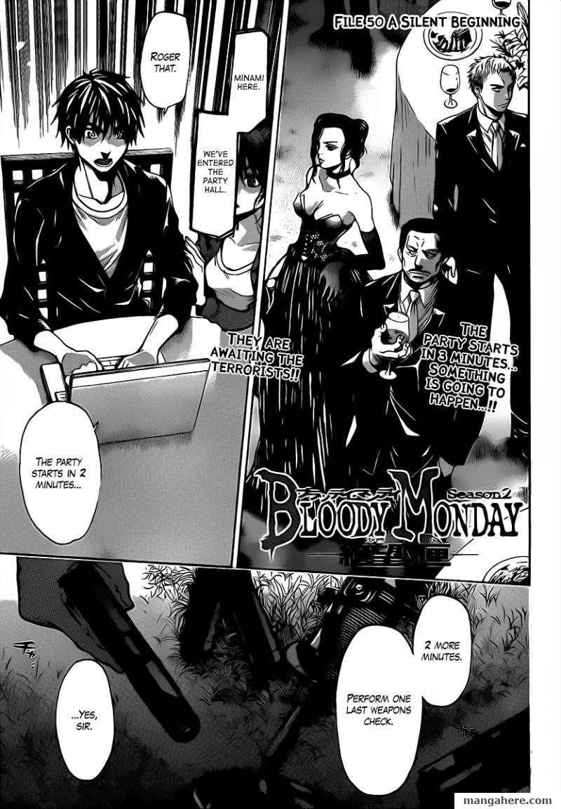 Bloody Monday Season 2 50 Page 1