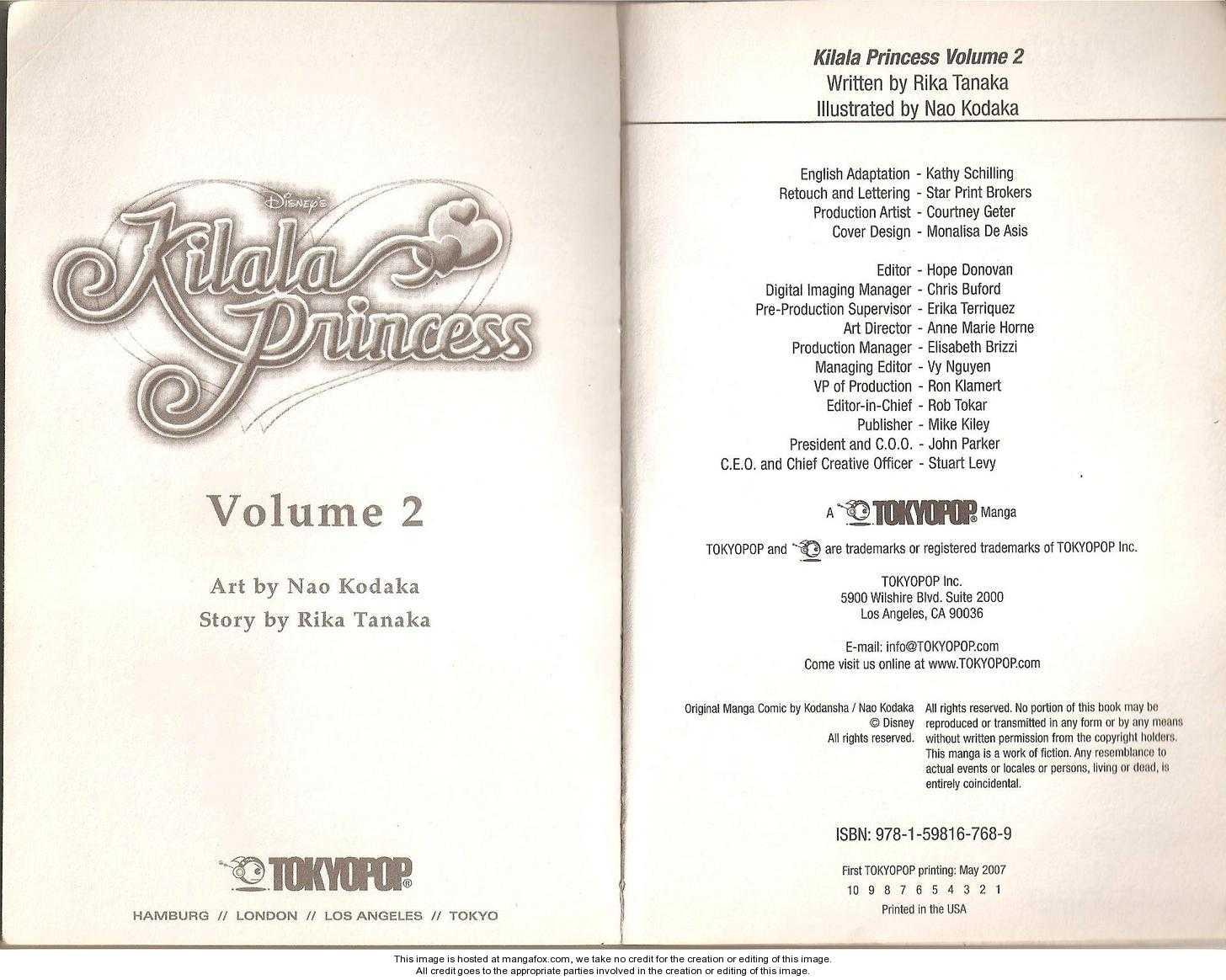Kilala Princess 3 Page 2