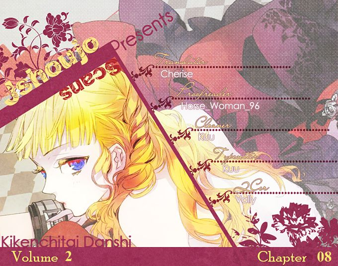 Kikenchitai Danshi - Kedamono Black & White 8 Page 2