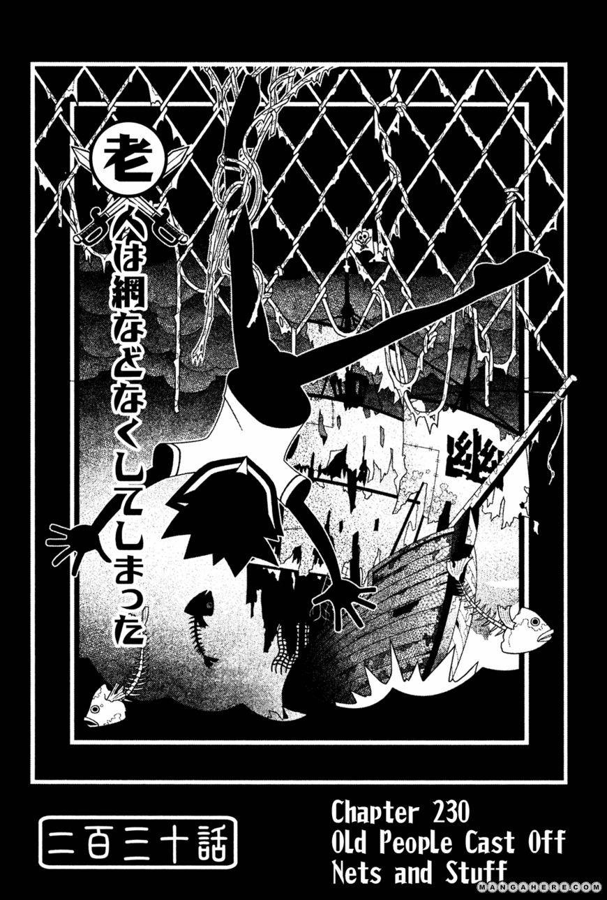Sayonara Zetsubou Sensei 230 Page 1