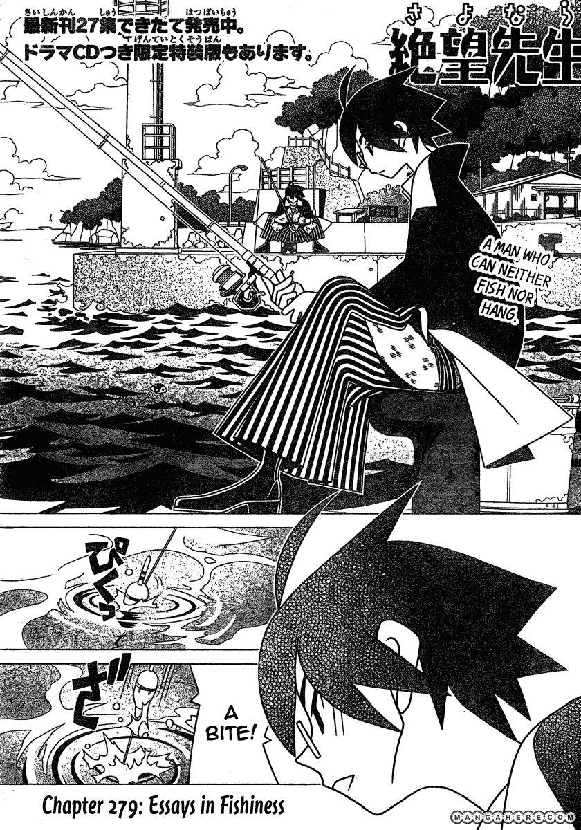 Sayonara Zetsubou Sensei 279 Page 1