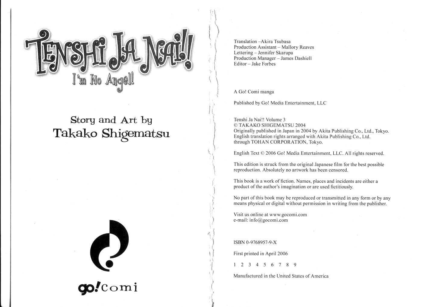 Tenshi Ja Nai! 0 Page 2
