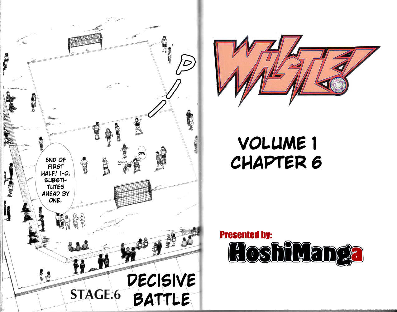 Whistle! 6 Page 1