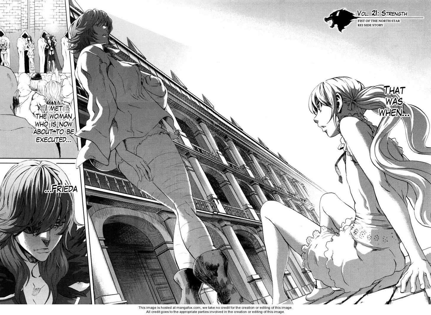 Soukoku no Garou - Hokuto no Ken Rei Gaiden 21 Page 2