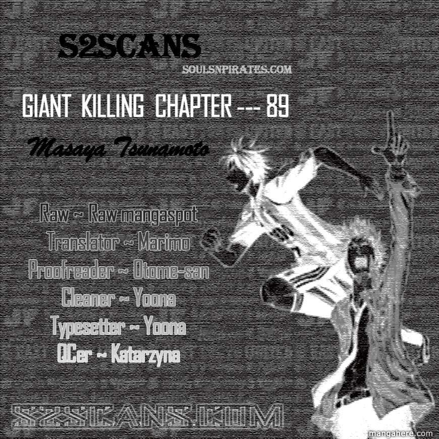 Giant Killing 89 Page 1