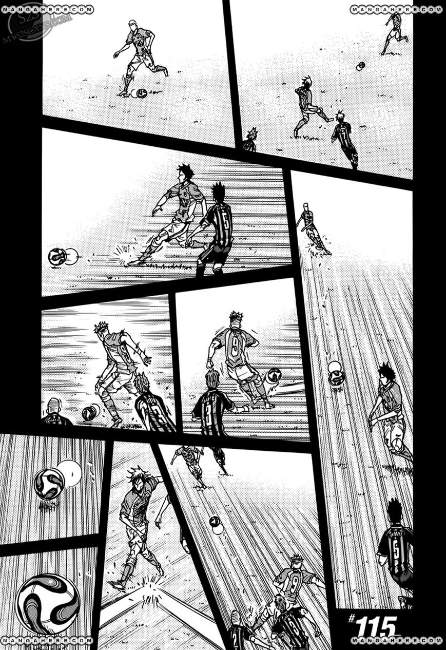 Giant Killing 115 Page 1
