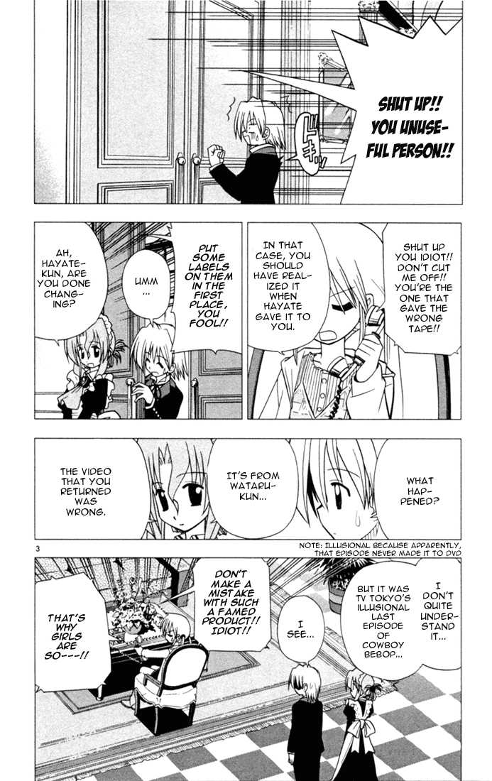 Hayate the Combat Butler 27 Page 3