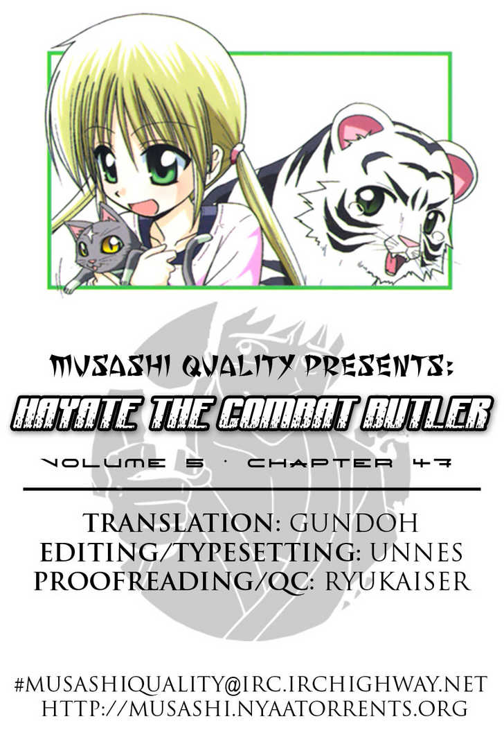 Hayate the Combat Butler 47 Page 1