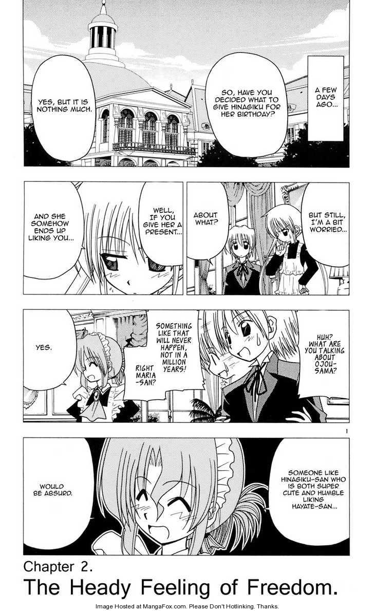 Hayate the Combat Butler 98 Page 1
