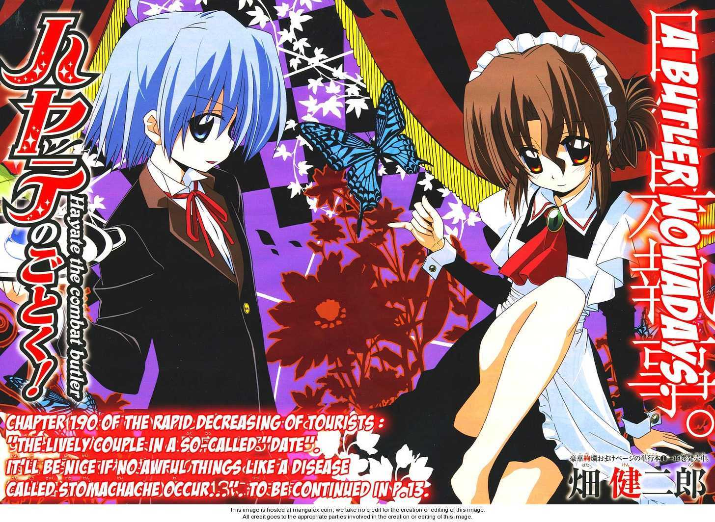 Hayate the Combat Butler 190 Page 2