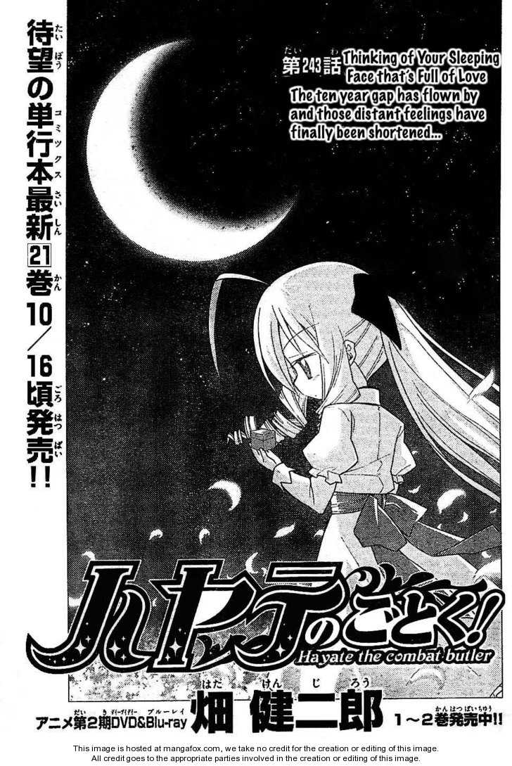 Hayate the Combat Butler 243 Page 1