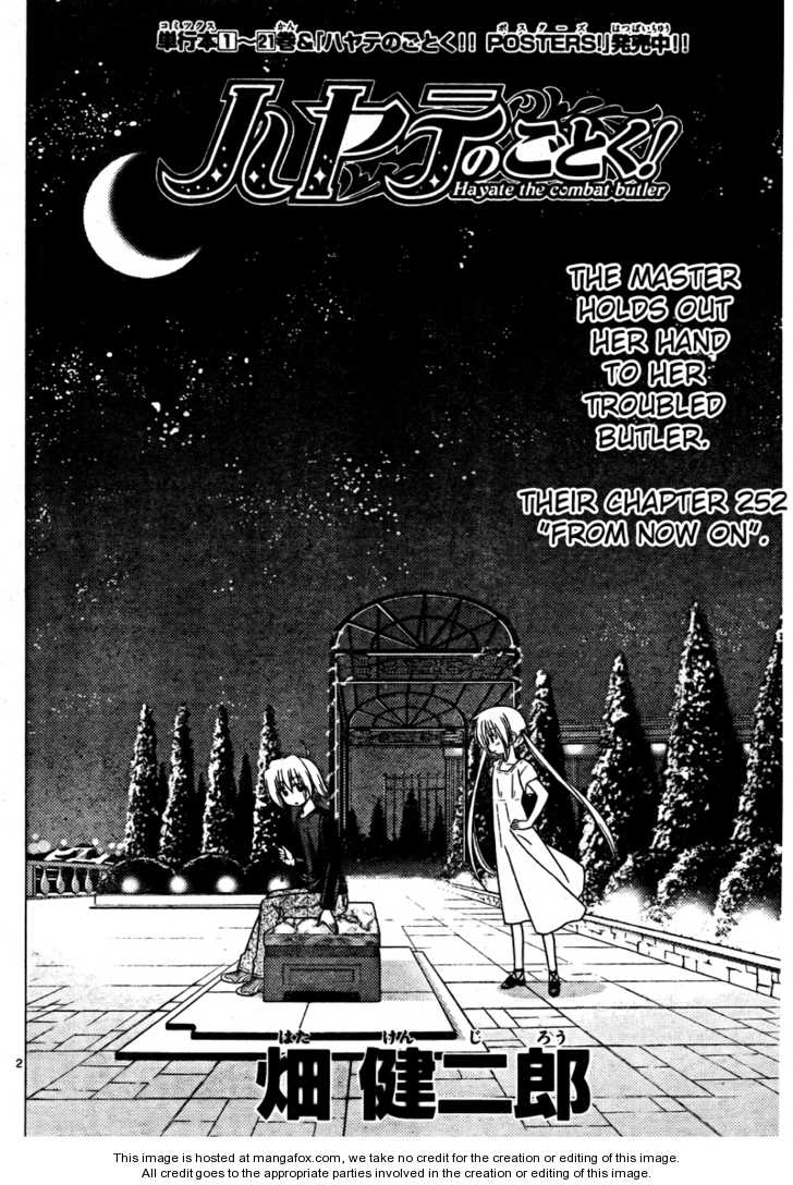 Hayate the Combat Butler 252 Page 2