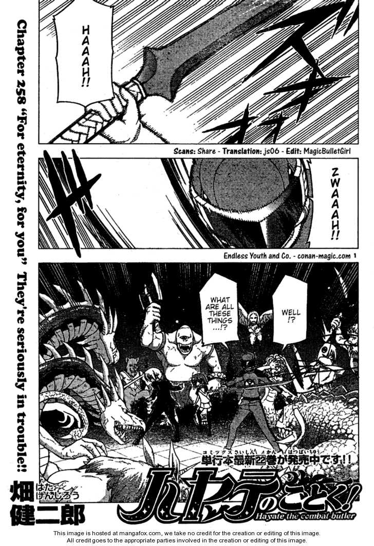 Hayate the Combat Butler 258 Page 1