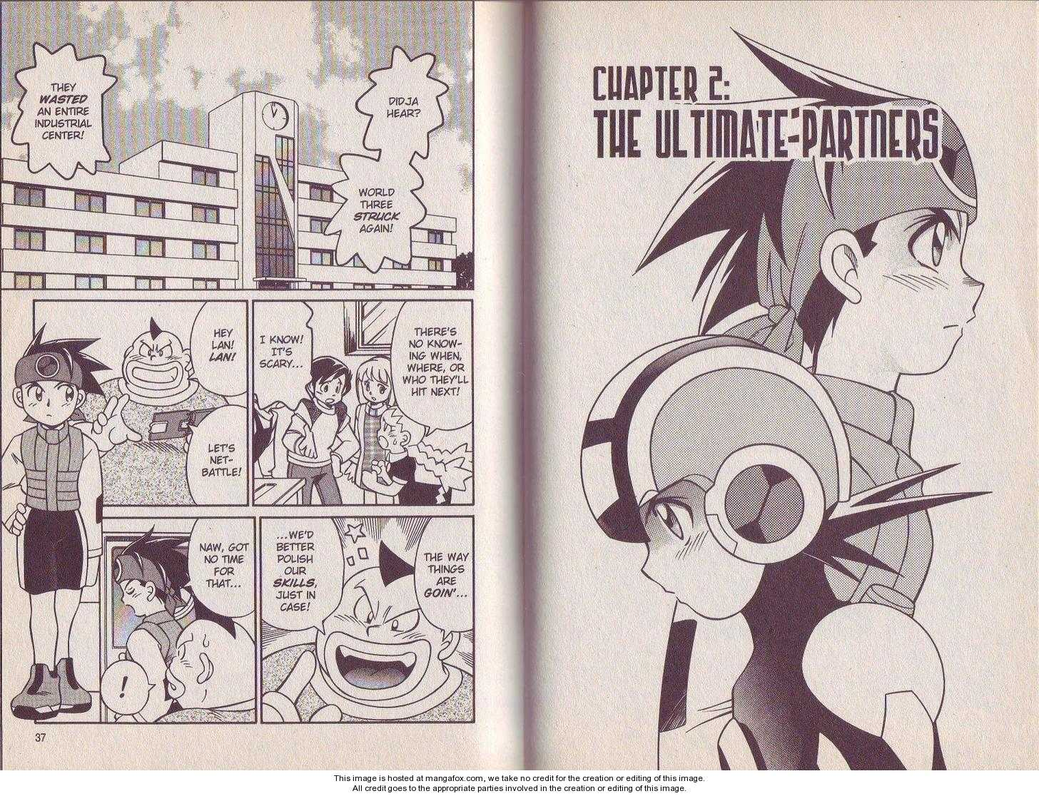 Megaman NT Warrior 2 Page 2