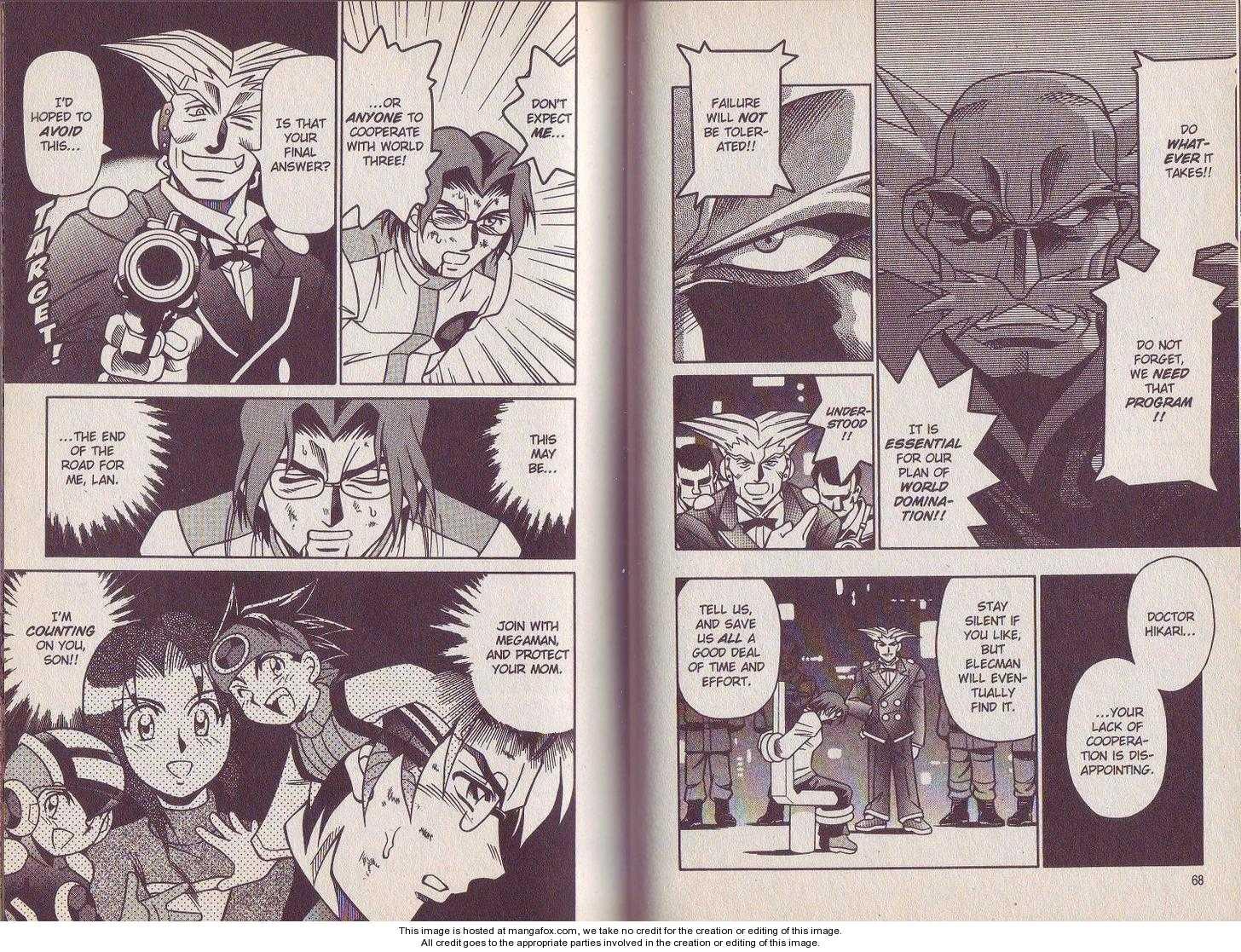 Megaman NT Warrior 3 Page 2