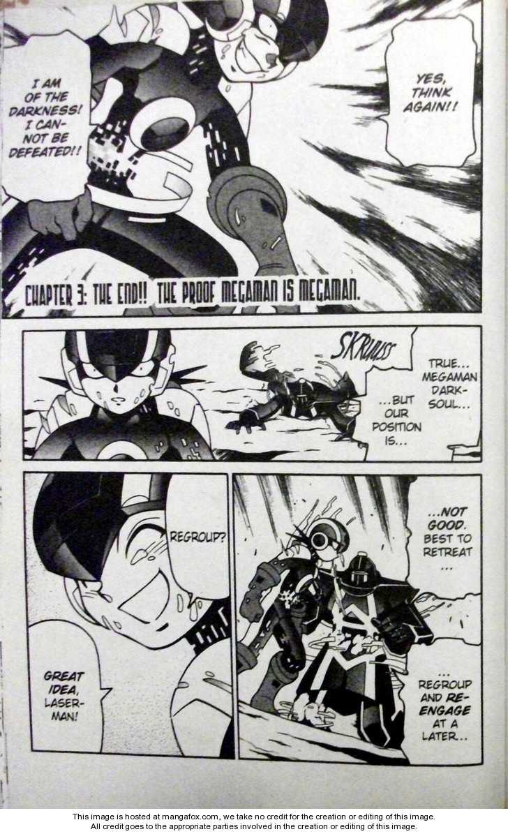 Megaman NT Warrior 3 Page 1