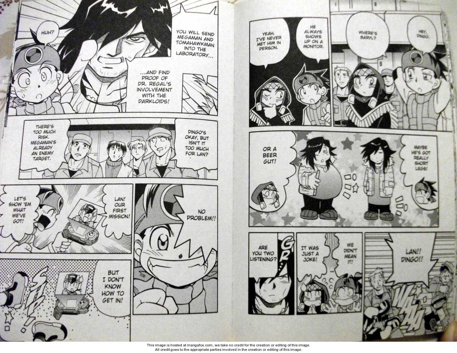 Megaman NT Warrior 4 Page 2