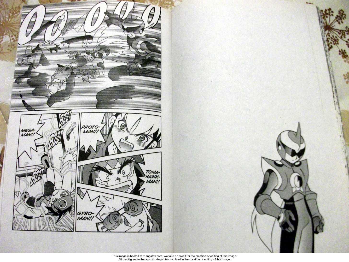 Megaman NT Warrior 2 Page 1