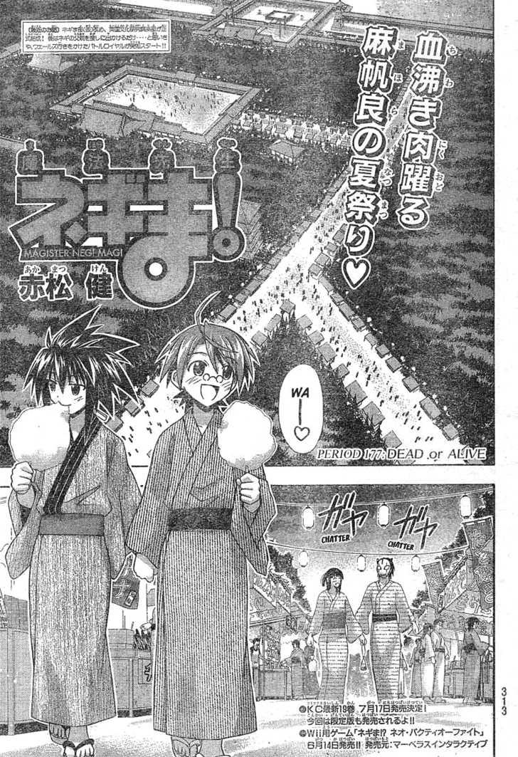 Mahou Sensei Negima! 177 Page 2