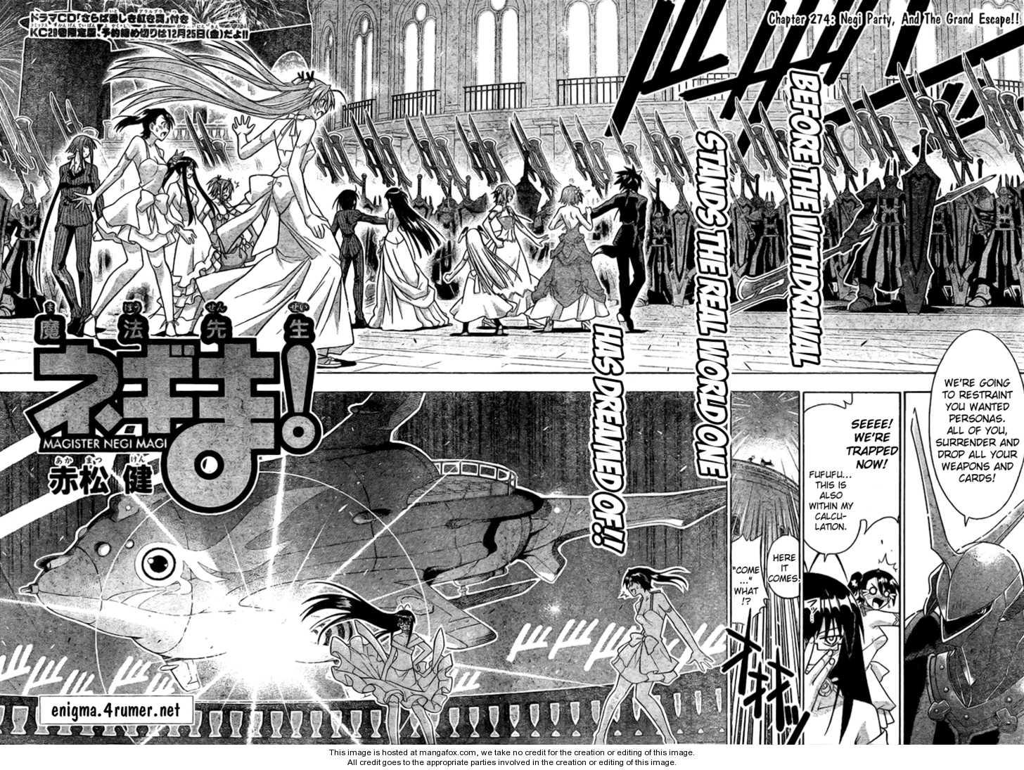 Mahou Sensei Negima! 274 Page 2