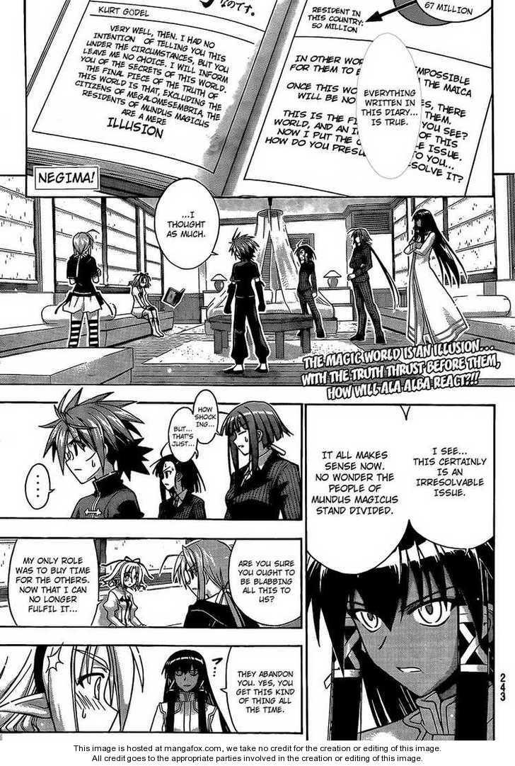 Mahou Sensei Negima! 285 Page 1